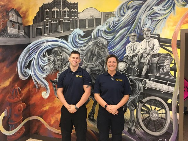 Denison Fire & Rescue hires two new recruits!